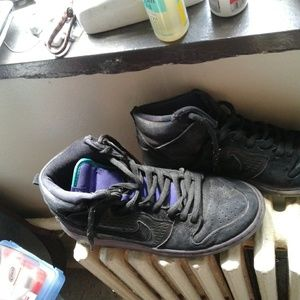 Black Nikes Size 11M